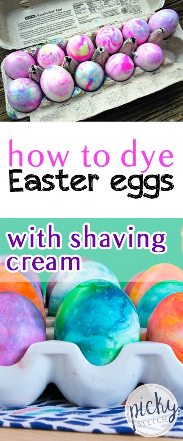 How to Dye Easter Eggs With Shaving Cream| Easter Eggs, How to Dye Easter Eggs, DIY Easter Eggs, Easily Dye Easter Eggs, How to Easily Dye Easter Eggs, Shaving Cream Easter Eggs, Easy Shaving Cream Easter Eggs, Popular Pin #ShavingCream #Easter #EasterEggs #DIY
