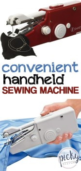 Convenient Handheld Sewing Machine | Handheld Sewing Machine | Sewing | Sewing Project | Handheld Sewing Machine Projects