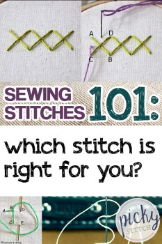 Sewing Stitches | Sewing Stitches for Sewing Projects | Sewing Projects | Sewing Project Ideas | Sewing
