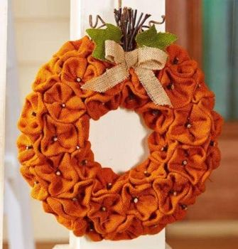 Burlap Fall Wreaths | Fall Wreaths | Fall Front Porch Decor | Fall Decorations with Burlap | Burlap | Burlap for Fall Decorations | Fall Decorations