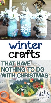 Winter Crafts | Winter Crafts that aren't Christmas | Non-Christmas Winter Crafts | Craft Ideas for Winter | Craft Ideas for the Winter Months