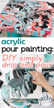 Pour Painting | Pour Painting | DIY Pour Painting | Pour Painting Technique | Pour Painting Ideas | DIY Acrylic Pour Painting | Learn How to Do The Pour Painting Technique