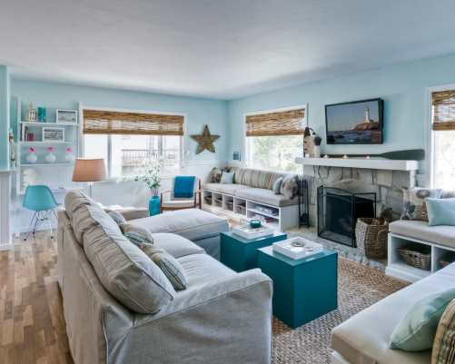 seaside style | home decor | coastal decor | coastal | seaside | beachy decor | coastal look | coastal home decor