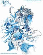 Lord-Shiva-By-Ujan-Dutta-Art