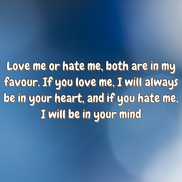 You And Me Love We Will Be