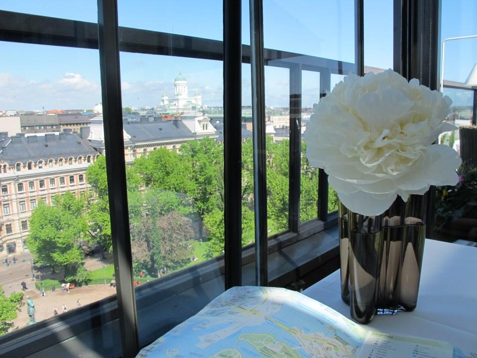 Het prachtige uitzicht vanuit The Savoy, Helsinki