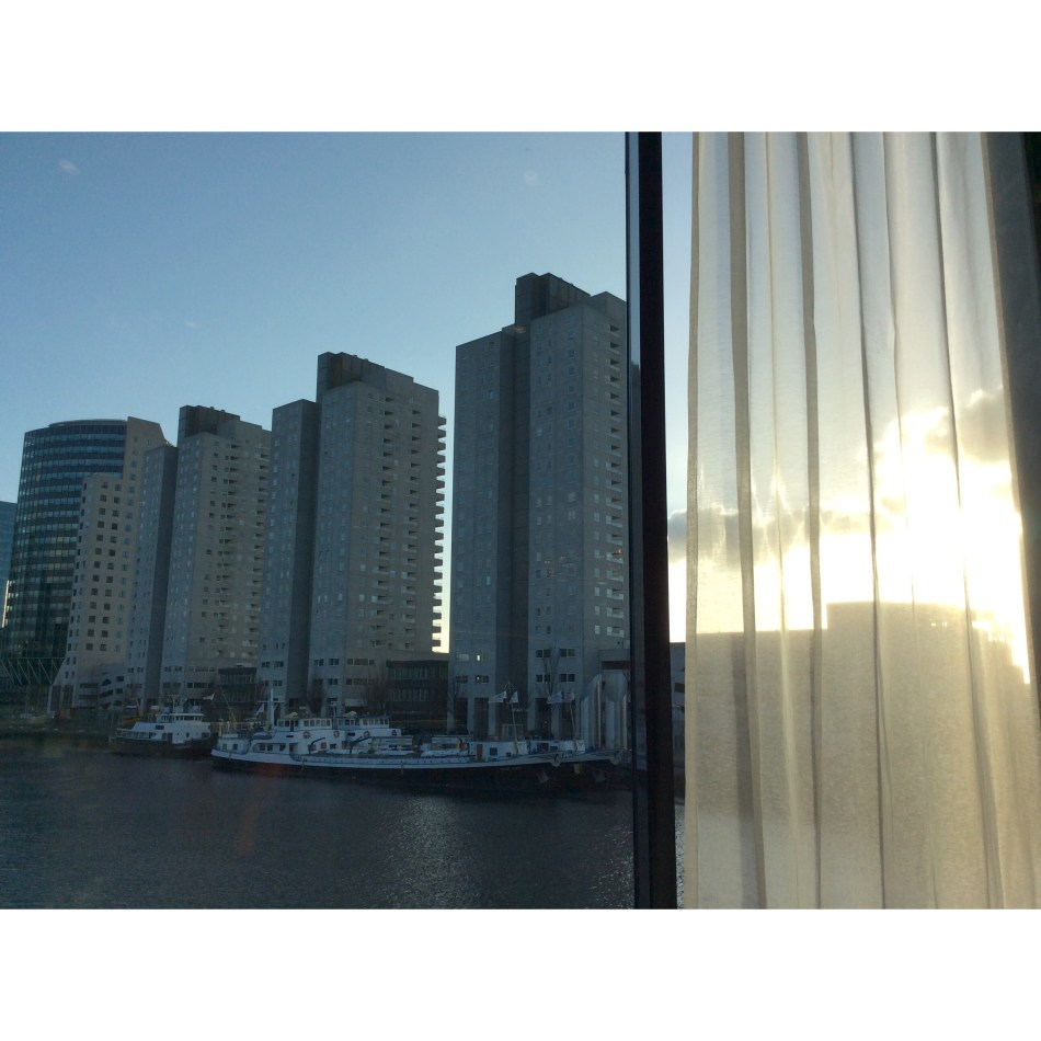 Skyline Rotterdam - uitzicht vanuit Mainport Hotel