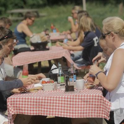 Jordbær picnic på Rokkedyssegaard