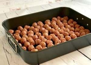 Baking Meatballs