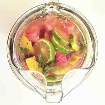 Watermelon-Mango Sangria