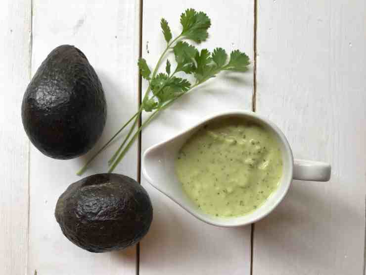 Green Goddess Dressing with Avocado
