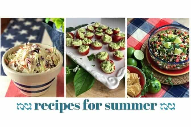 Summer Recipes Pin