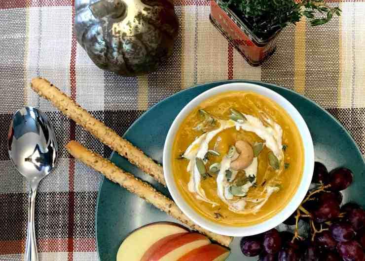 Squash Soup Serving