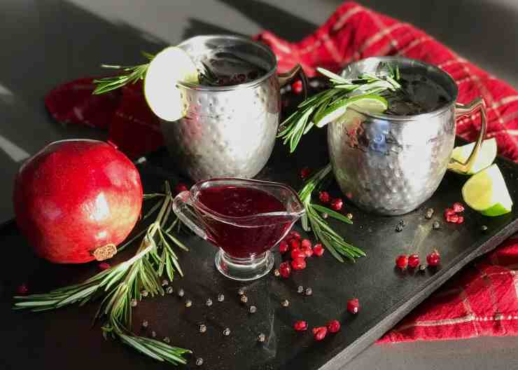 Pomegranate Rosemary Mule