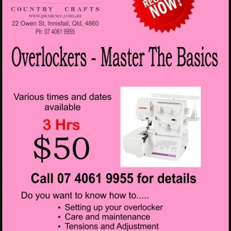 Overlockers - Master the basics