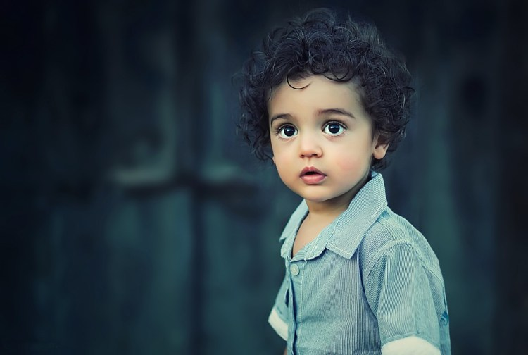 biracial child