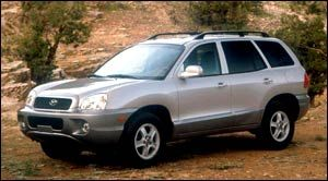 Hyundai Santa Fe 2002 | Fiche technique | Auto123