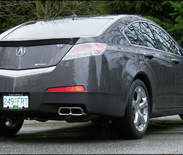 2010 Acura Tl Sh Awd Tech Review