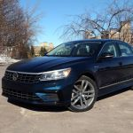 Review Of The 2018 Volkswagen Passat Tsi R Line Car Reviews Auto123
