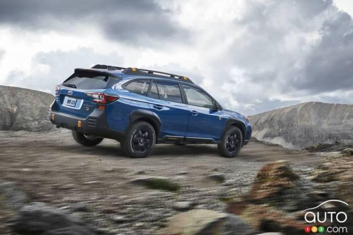 Subaru Outback Wilderness 2022, three-quarter rear