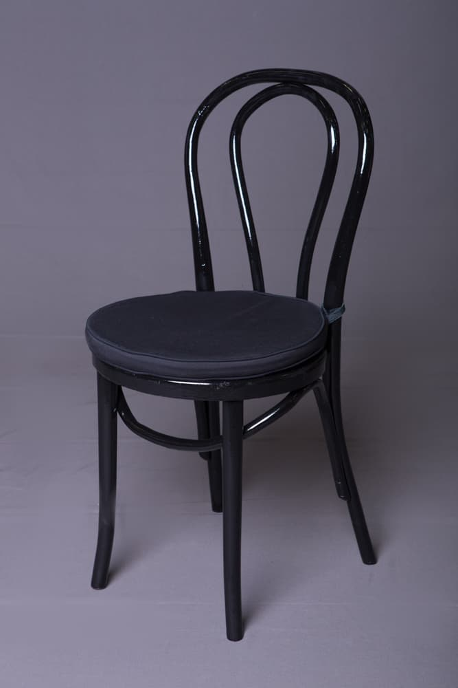 Bent Wood Chairs. Black Bentwood Chair