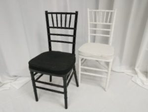 Black/White Dining Chair