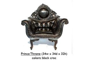 Croc Prince Throne