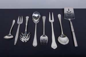 Silver Plated Serving Utensils