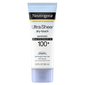 Neutrogena Ultra Sheer Dry-Touch Sunblock, SPF 100