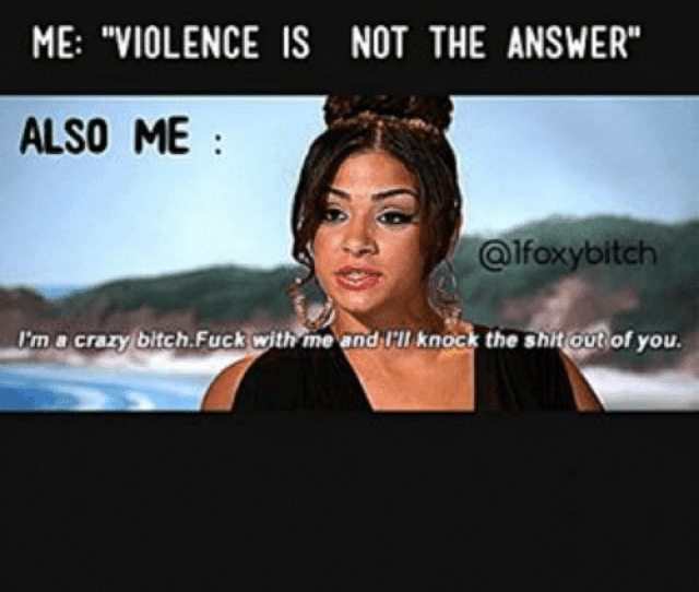 Girl Memes Answers And Answer Me Violence Is Not The Answer