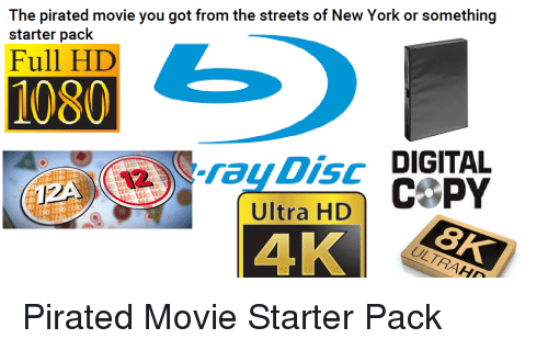 The Pirated Movie You Got From The Streets Of New York Or