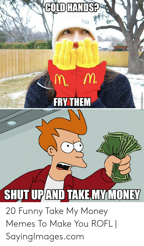 25 Best Memes About Fry Shut Up And Take My Money Meme Fry