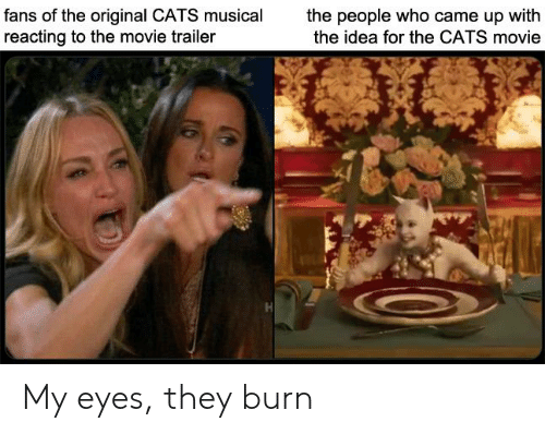 Fans Of The Original Cats Musical Reacting To The Movie Trailer