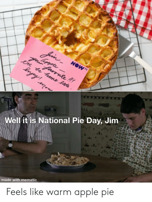 American Pie Making It Up As I Go