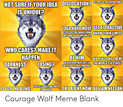 25 Best Memes About Baby Insanity Wolf Meme Blank Baby