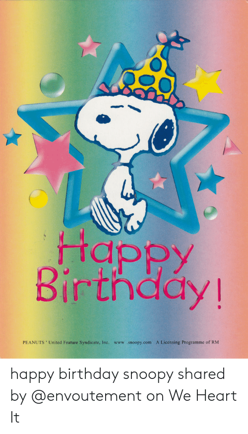 25 Best Memes About Happy Birthday Snoopy Happy Birthday Snoopy Memes