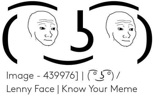 Lenny Meme Face Copy Undertale Emoticons Emoji Ascii Art