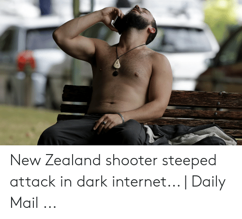New Zealand Shooter Steeped Attack In Dark Internet Daily Mail