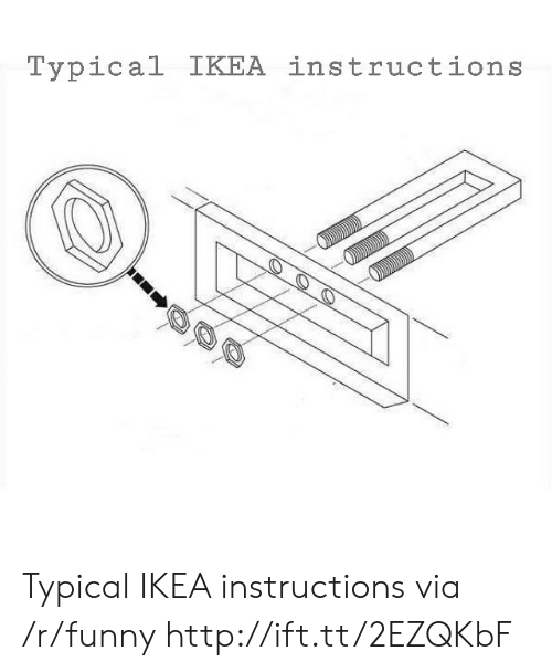 Ikea Instructions For Creating Movie Monsters