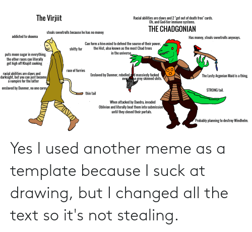 Yes I Used Another Meme As A Template Because I Suck At Drawing