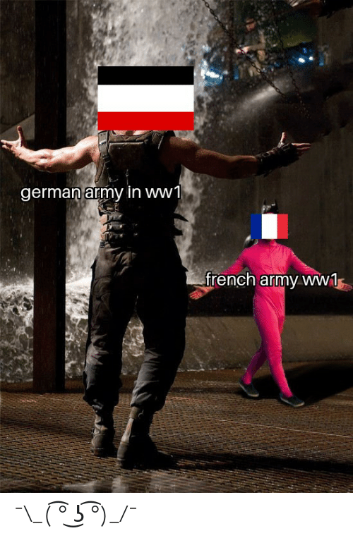 French Army Knife Fixed Meme Guy
