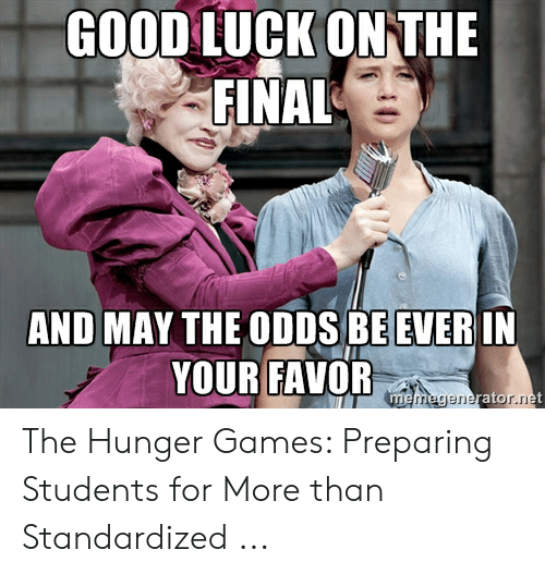 25 Best Memes About Hunger Games May The Odds Hunger Games