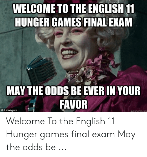 May The Odds Be Ever In My Favor For Upvotes Stolen Memes Week