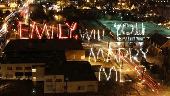 Light writing proposal