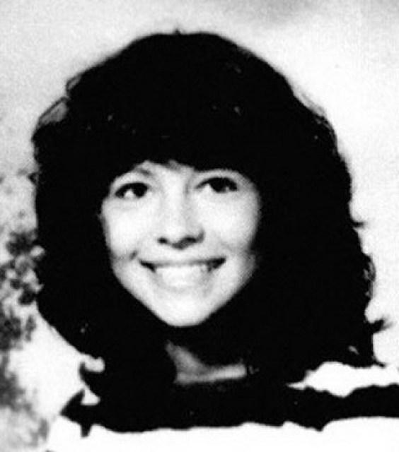 Pamela Anderson, de niña