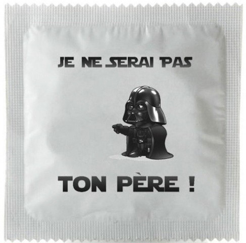 prezervativ star wars