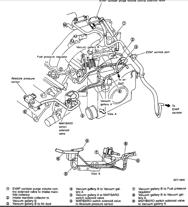 1999 fed vacuum diagram nissan maxima transmission wiring diagram nissan free wiring  at virtualis.co
