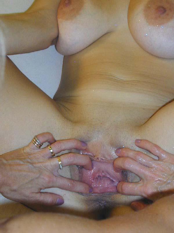 Female oozing orgasm