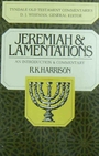 Jeremiah and Lamentations (Tyndale Old Testament Commentaries) - R. K. Harrison