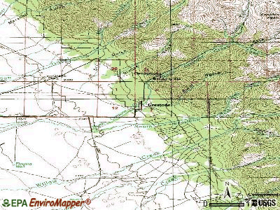 Crestone  Colorado  CO 81131  profile  population  maps  real estate     Crestone topographic map